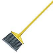 Angled Broom With Vinyl-Coated Metal Handle 46 x 7/8""