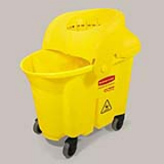 Yellow 33-qt. Institutional Mop Bucket & Wringer Combo 1/ea