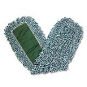 Microfiber Loop Dust Mop 24 x 5 Green cs/12