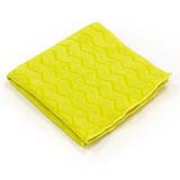 "HYGEN® Microfiber Cleaning Cloths - Yellow, 16""x16"", cs/12"