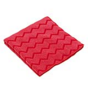 "HYGEN® Microfiber Cleaning Cloths - Red, 16""x16"", cs/12"