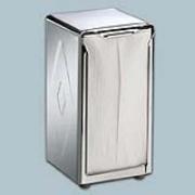 Chrome Tall-Fold Napkin Dispenser