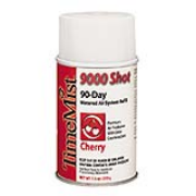 TimeMist® 9000 Shot Metered Air Freshener Refills Cherry Aerosol cs/4