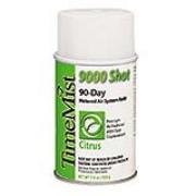 TimeMist® 9000 Shot Metered Air Freshener Refills Citrus Aerosol cs/4