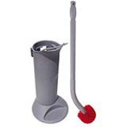 ErgoToilet Bowl Brush System with Holder 1/ea