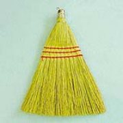 Corn Whisk Broom 10""