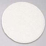 "17""  White Rotary Yarn Bonnet 1/ea"