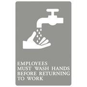 ADA Signs  - Wash Hands 1/ea