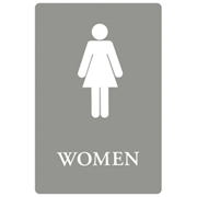 ADA Signs  - Women 1/ea