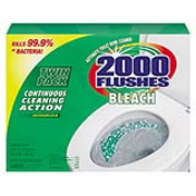 2000 Flushes® Bleach Antibacterial Automatic Bowl Cleaner 1.25-oz Bleach cs/12