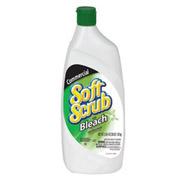 Soft Scrub® Liquid Cleanser with Bleach Disinfectant 24-oz, cs/9