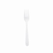 Heavy-Wt White Polypropylene Disposable Fork cs/1000