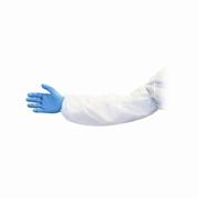"Disposable Polyethylene Sleeve 18"" White cs/1000"