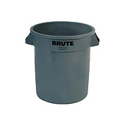 Round Brute® Container 10-gal. Gray 1/ea