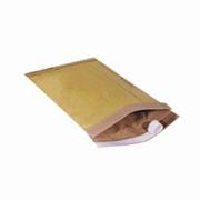 "#0 Kraft Self-Seal Padded Mailer 6x10"" cs/250"