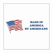 """2x6""""Made In America By Americans Label rl/500"""