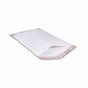 "#000 White Self-Seal Poly Bubble Mailer  4x8"" cs/500"