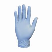 Powder-Free Blue Disposable Nitrile Gloves 4.1-mil (S) Box-100
