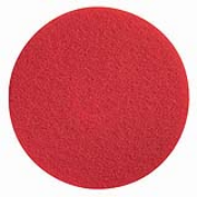 "Premier Standard Red Floor Pad 21"" cs/5"