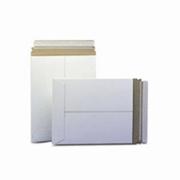"5-1/8x5-1/8"" Stayflats® Plus White Top-Loading Self-Seal Mailer cs/200"