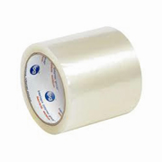"""1.6-mil Hot Melt Label Protection Tape 4""""x72-yds. Clear cs/18"""