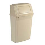 Slim Jim®  Wall Mount Container (Beige) 1/ea