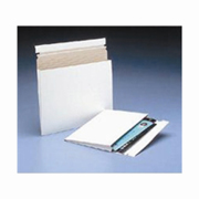 """10x7-3/4x1"""" Expand-A-Mailer™ White Self-Seal Gusseted Mailer cs/100"""