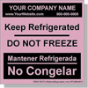 AABL Personalized Labels Bilingual - Spanish