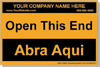 AABC Personalized Labels Bilingual - Spanish