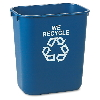 AOWN Deskside Paper  Recycling Containers