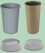 ANRT Untouchable® Round Waste Containers & Lids