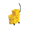 AHJI 35-qt. Mop Bucket & Side-Press Wringer