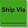 ANUW Shipping Labels