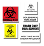 APMW Identification Decals For Waste Containers