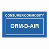 AAHE ORM-D Labels