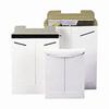 AAIH White PaperboardTab-Lock Mailer